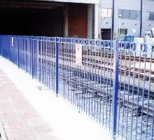 Snow Hill Station Ornamental Fencing - Steel Railings