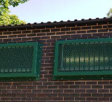 Steel Window Bars and Window Grilles
