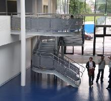 Steel Staircase  - Architectural Metalwork