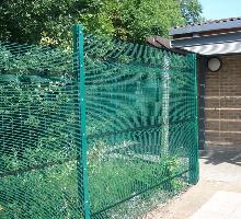 Longford Fencing with pressed beams - Perimeter Fencing