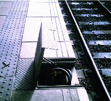 Platform watering hatch Access Covers