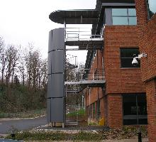 External fire escape  - Architectural Metalwork