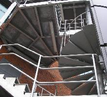 External steel fire escape - Architectural Metalwork