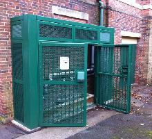 3 sided SR3 security cage