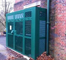 3 sided SR3 security cage - Security Cages