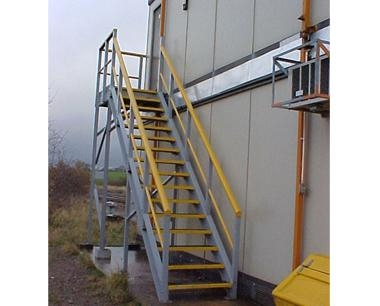 GRP Railway Stairs & Fire Escape Stairs