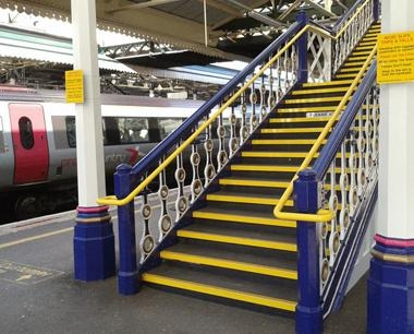 Railway Stairs | Fire escape stairs
