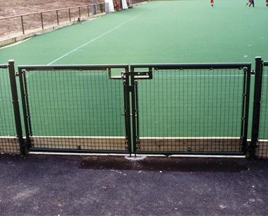 Double Leaf Sports Gates