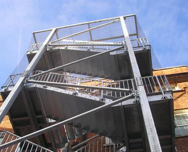 Fire Escape Stairs | Steelway