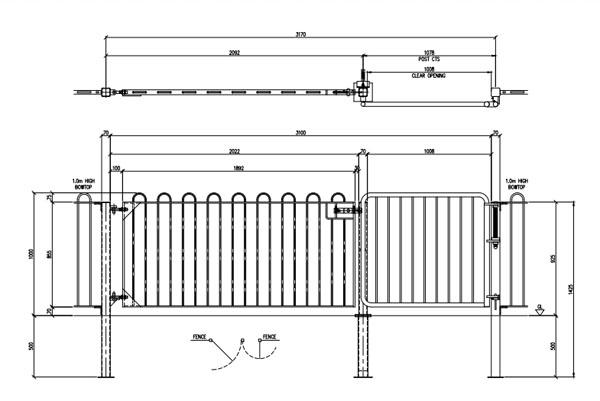 Premier Safe Spring Assisted Dual Use Gate