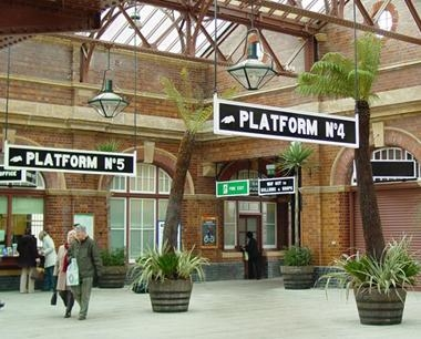 Railway Station Signs