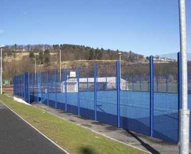 Full Height Rebound MUGA Fencing
