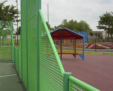 Transitional MUGA fence Panels