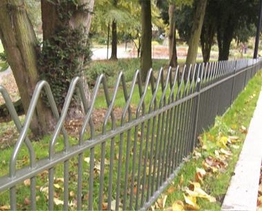 Alton Interlaced Bow Top Fencing