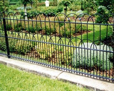 Kensington Interlaced Bow Top Fencing