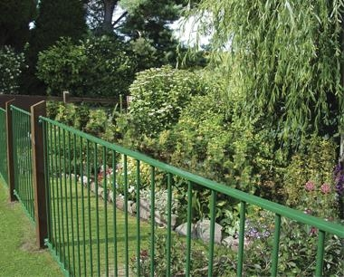 Wenlock Flat Top Fencing