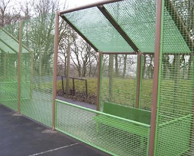 MUGA Dug Out