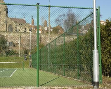 Top Rail Tennis Court Fencing