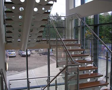 Architectural steel Balustrade