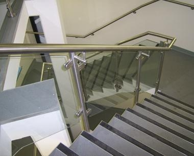 Glass Panelled Balustrade