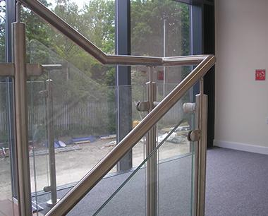 Glass steel  Balustrade