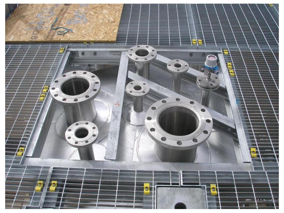 Industrial Steel Flooring Open Mesh Flooring Metal