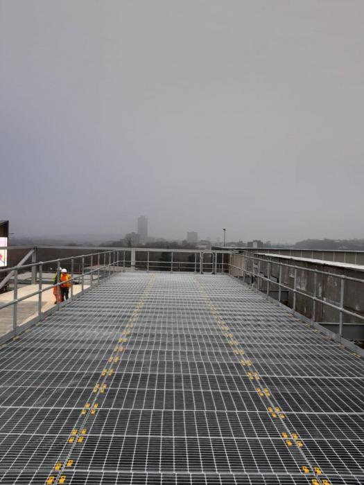 Industrial Steel Flooring | Open Mesh Flooring | Metal Grate