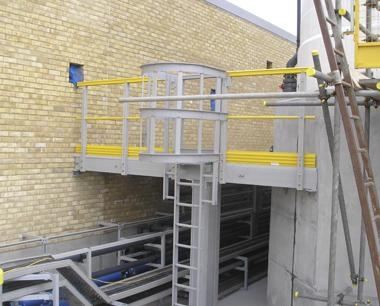 GRP vertical Ladder