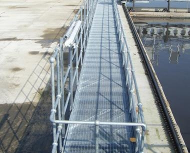 Steel Platforms - access walkways