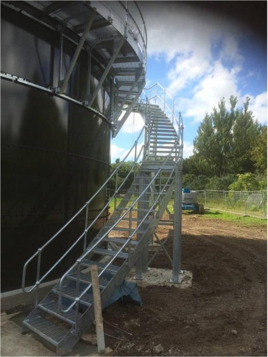 Helical Steel stairs