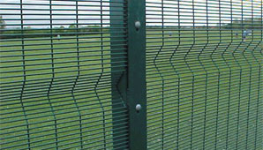 Wire Mesh Panel Security Fencing