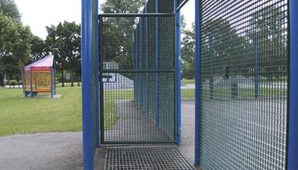 MUGA Entrances