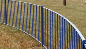 Flat Top Fencing and Gates