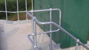 Industrial Steel Handrails