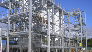 steel platforms / steel walkways