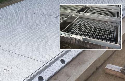 walk on mesh grids
