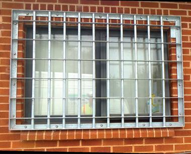 SR3 Steel Window bar sets / Grilles
