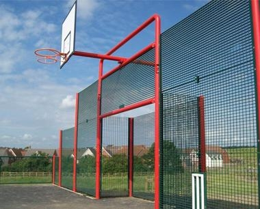 MUGA Square Back Goals
