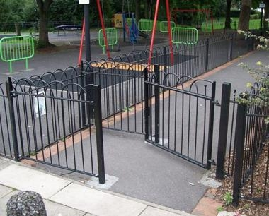 steel gates and barriers metal gates steelway fensecure