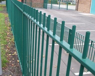 Steel Railings | Metal Railings | Steelway Fensecure