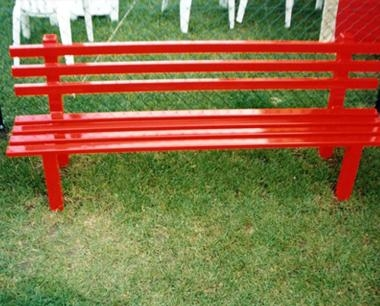 Red Street Furniture - Queensgate Bench