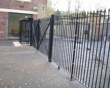 Steel Heritage Security Fencing