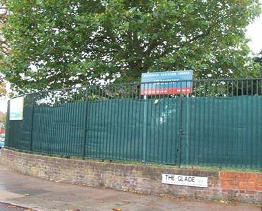 Steel School Boundary Fencing