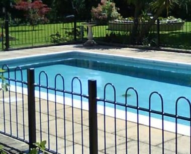 Residential Fencing around swimming pool