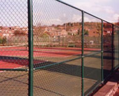 Premier System Chain Link Fencing around Sports Court