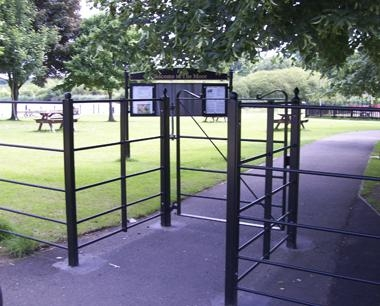 Steel Estate Fencing