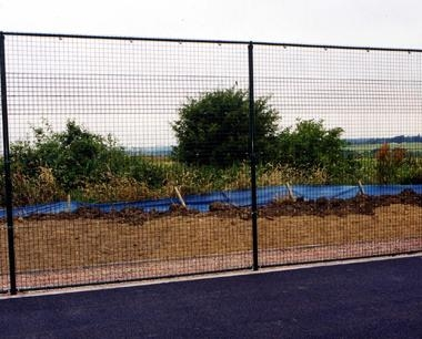 Green Classic System Weldmesh Fencing