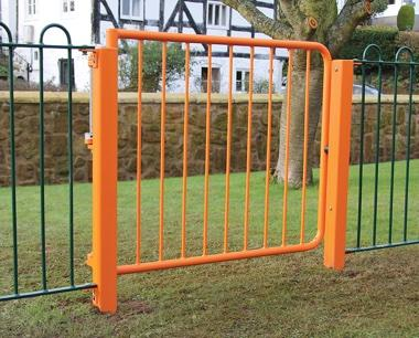 Spring Assisted Self Closing Gate