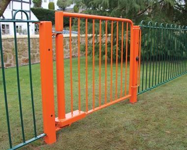 Hydraulic Self Closing Gate