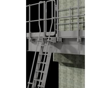 Ship Type Access Ladder